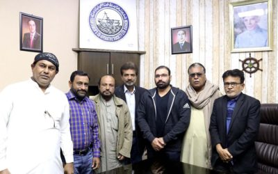 A delegation of the Katchi Muslim Badala Party met with Chairman