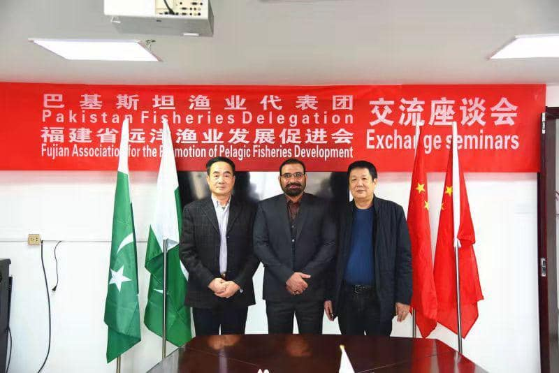 Chairman Abdul Berr visited China