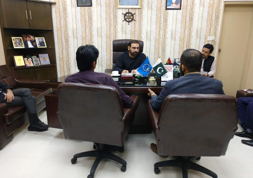 Sindh Peoples Youth Leaders Meet with Chairman FCS Abdul Berr